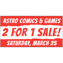 2 For 1 Sale Banner