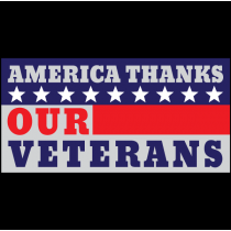America Thanks Our Veterans Sign T