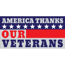 America Thanks Our Veterans Magnet