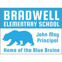 Bear School Mascot