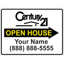 Century 21 Open House Right Arrow