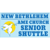 Church Shuttle Magnet