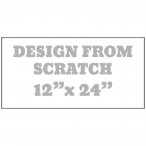 Design From Scratch 12 x 24 Magnet