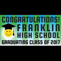 Happy Graduate Banner