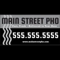 Pho Restaurant Magnet