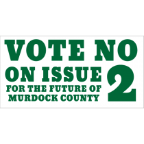 Vote No On Issue 2 Banner