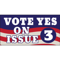 Vote Yes on 3 Magnet