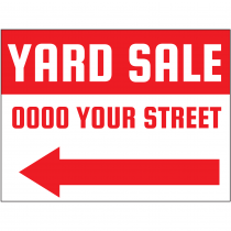 Yard Sale Directional
