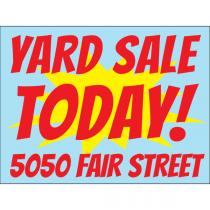 Yard Sale Starburst
