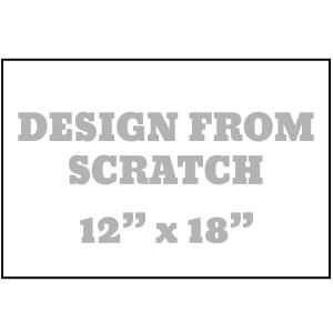 Design From Scratch 12 x 18